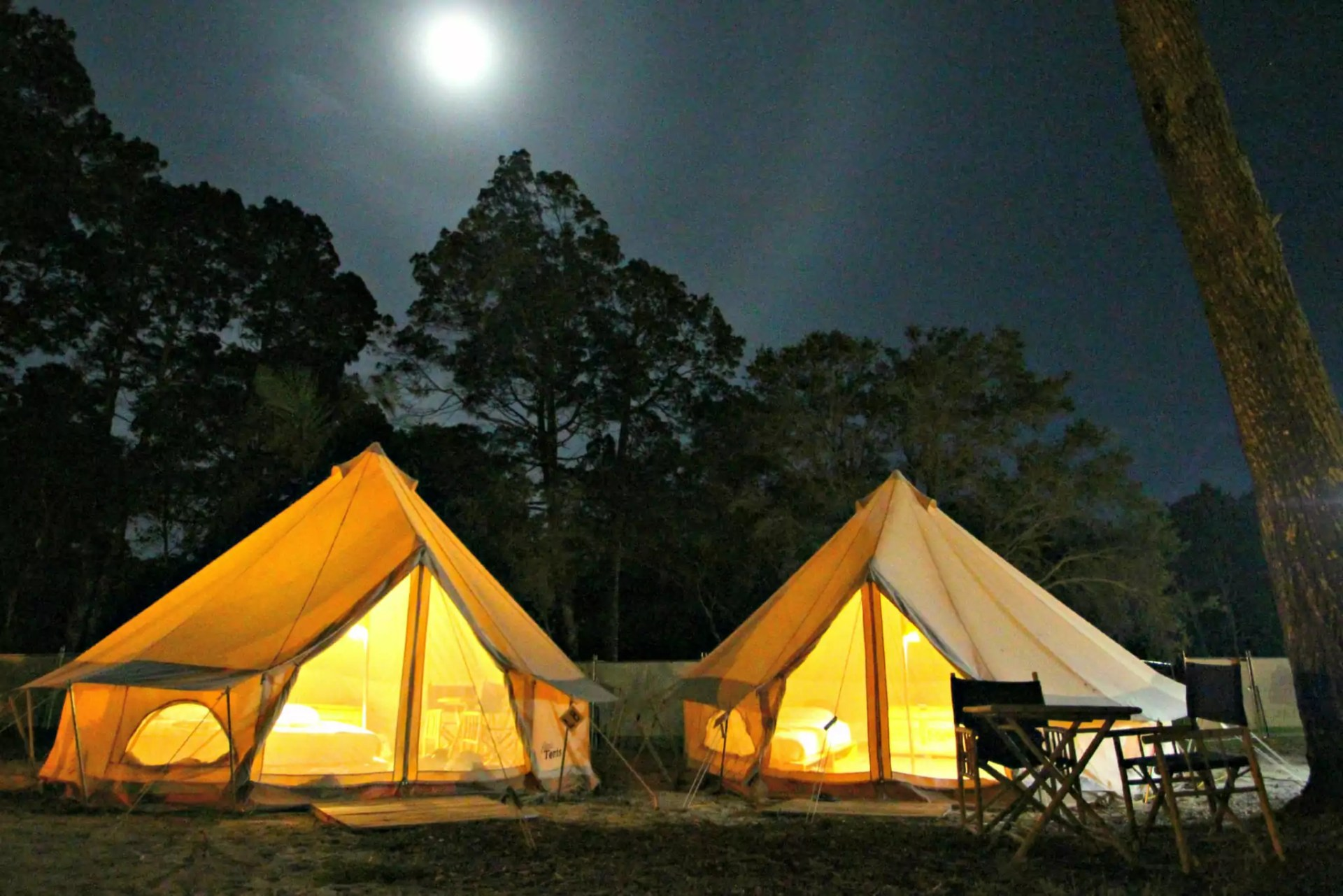 Glamping on North Stradbroke Island: Flash Camp pops-up in Dunwich