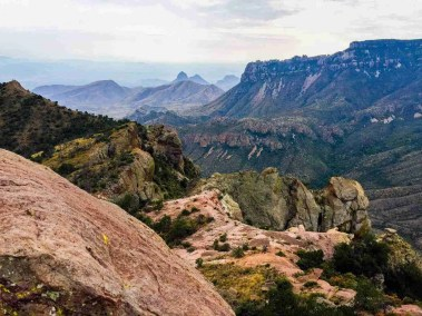 Chisos Mountains Vistas Big Bend