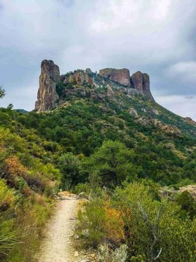 Casa Grande from the Lost Mine Trail