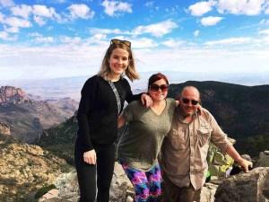 on top of emory peak