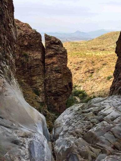WIndow Trail Pour-off