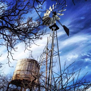 windmill in marathon texas