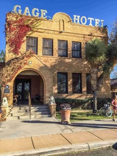 Gage Hotel in Marathon Texas