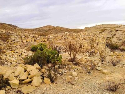 ruins at mariscal mine
