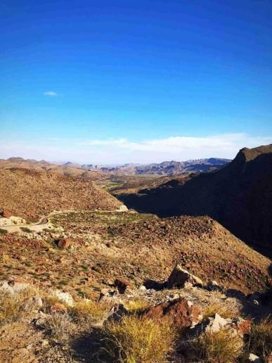 fm 170 wind through big bend ranch state park