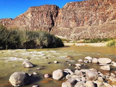 rio grande river off of fm 170