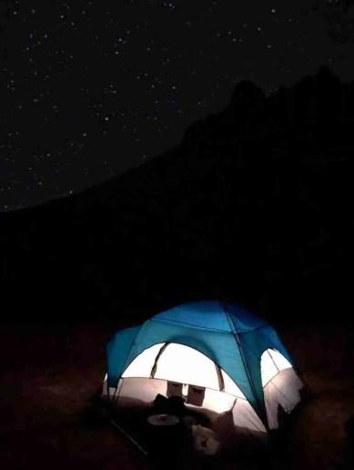 tent camping at terlingua ranch