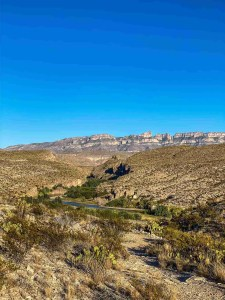hot springs canyon at Hot Springs District at Big Bend National Park