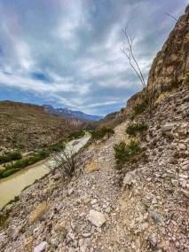 rio grande Marufa Vega Trail in Big Bend National Park