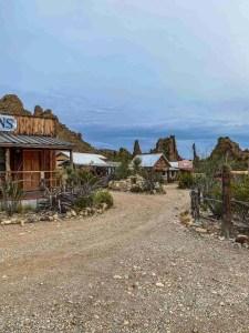 Ten Bits Ranch near Big Bend National Park