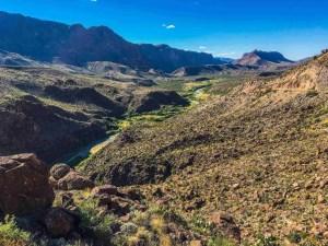 big bend rand state park vista