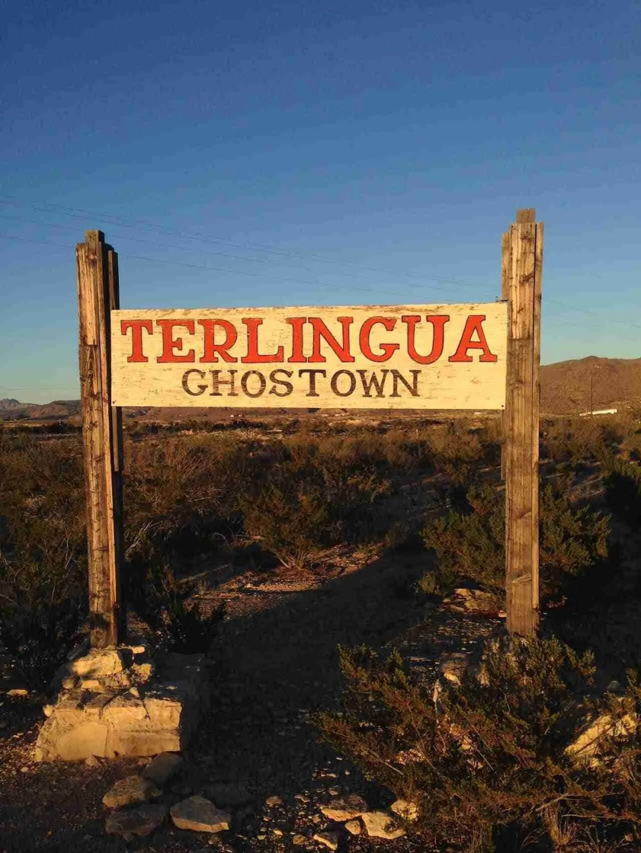 terlingua ghostown sign