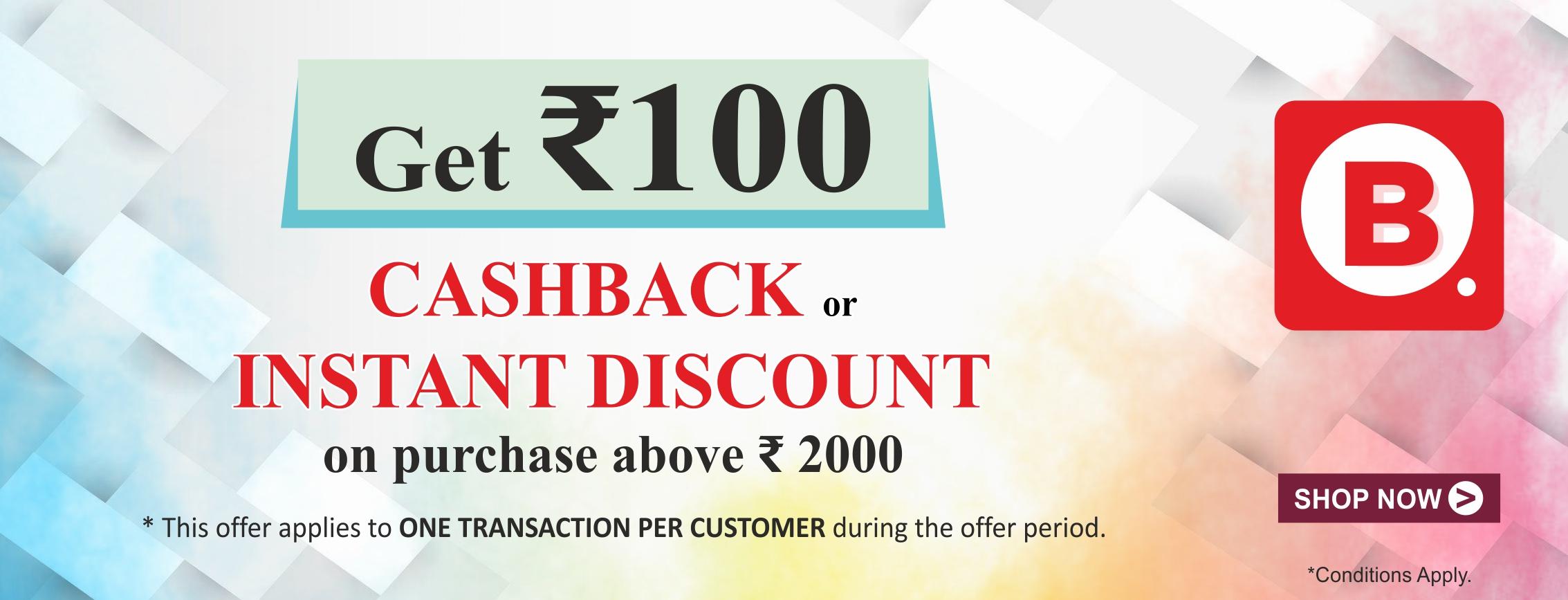 BigBFreshStore-Instant Discount and Cashback Coupon GRABON100