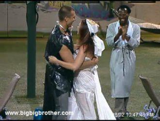 Big Brother Happy couple