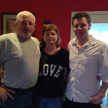 Big Brother 2013 Spoilers - Judd with Parents