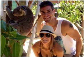 Big Brother Spoilers - Jeff and Jordan with koala