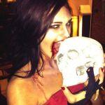 Kaitlin Barnaby on Halloween 02