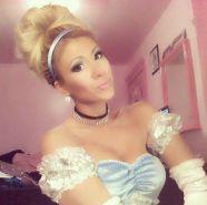 GinaMarie is Cinderella
