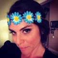 Big Brother 2013 Spoilers - Amanda Zuckerman models Justine Flower Halo