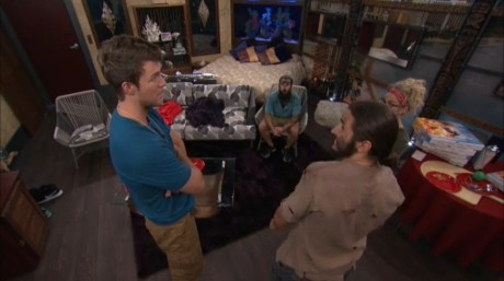 Big Brother 18-Corey Brooks, Victor Arroyo, Nicole Franzel, and Paul Abrahamian