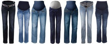 Bon Prix Maternity Jeans. Plus size maternity clothes