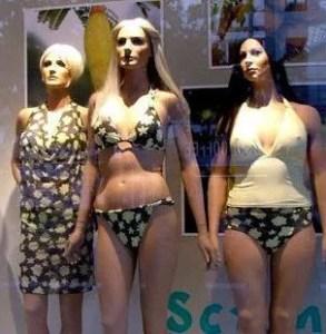 Mannequins at Åhléns