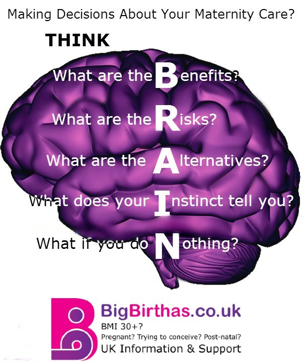 Making Decisions in Pregnancy and Labour - Using Your BRAIN