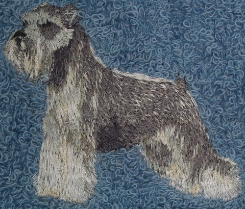 Embroidered Dog Items