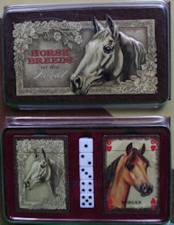Horse breeds of the world cards and dice