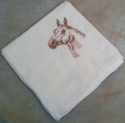 Oldenberg Horse Flour Sack Dish Towel