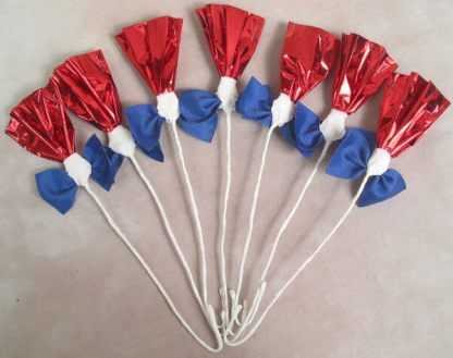 Rosettes Red, White, & Blue
