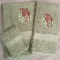 Camel Towel Set