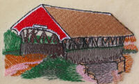Red Covered Bridge Design