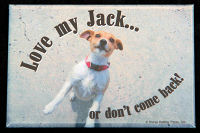 Love my Jack... Magnet