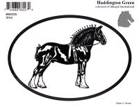 Shire Draft Horse Decal