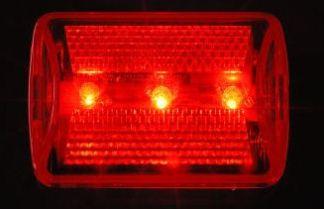 5 LED safety flasher