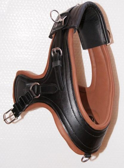 Miniature Horse Comfy Collar - Black & Brown