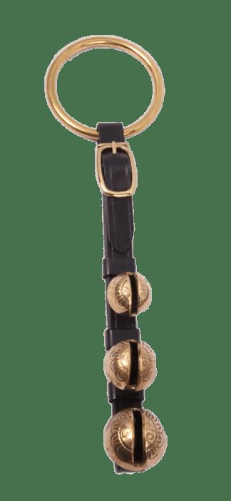 Door Knob Sleigh Bells Strap - 3 Bells