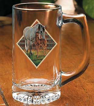 Mare & Foal Beer Steins