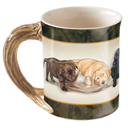 Sporting Puppies Mug