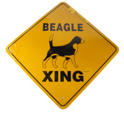 Dog Breed and Yard Signs