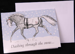 Dashing through the Snow Holiday Card
