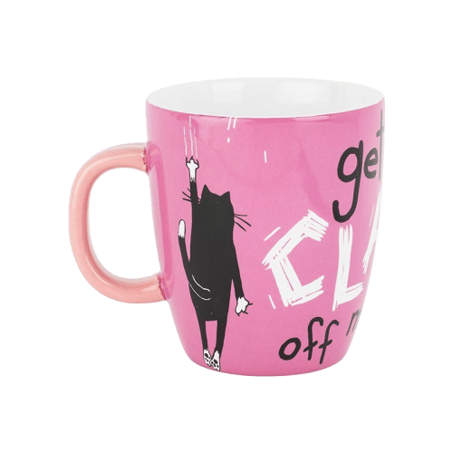 Hatley Get Your Claws Cat Mug