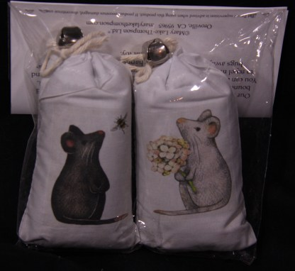 Kitty Cat Catnip - Bag with Bell - Various Designs