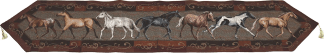 Rivers Edge Horse Jacquard Table Runner