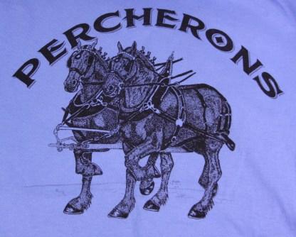 Percheron Team Draft Horse T-Shirt