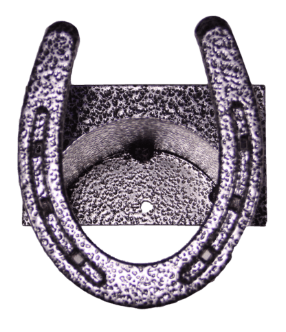 Metal Horseshoe Bridle Hook