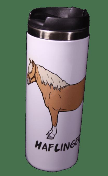 Haflinger Stainless Steel Tumbler - White