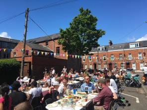 The Big Lunch in the Holylands