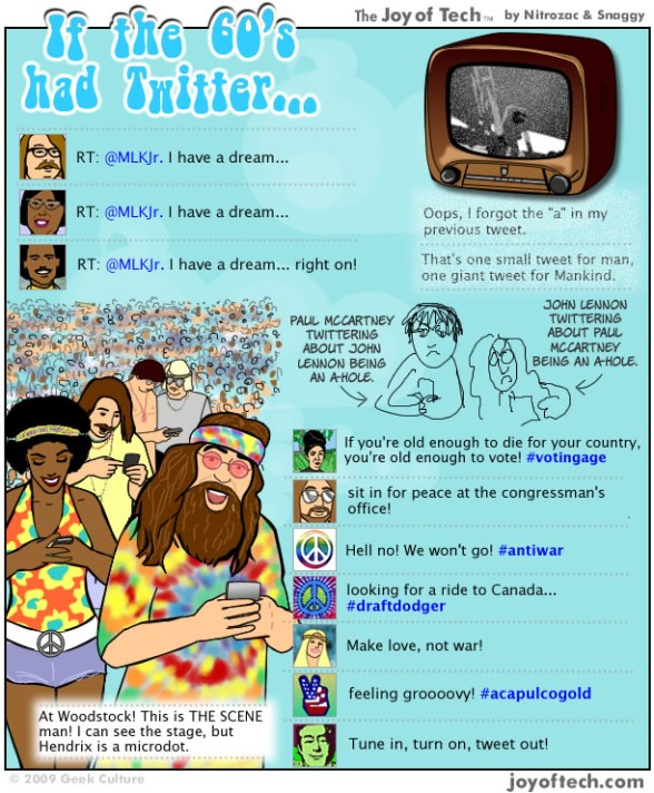 If the 60's had Twitter